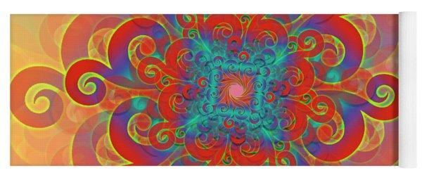 Flower Yoga Mat