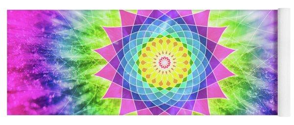 Flowering Mandala Yoga Mat