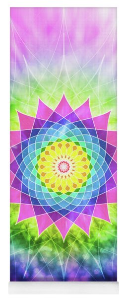 Flowering Mandala Yoga Mat