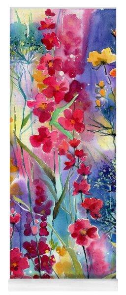 Flowers Fairy Tale Yoga Mat