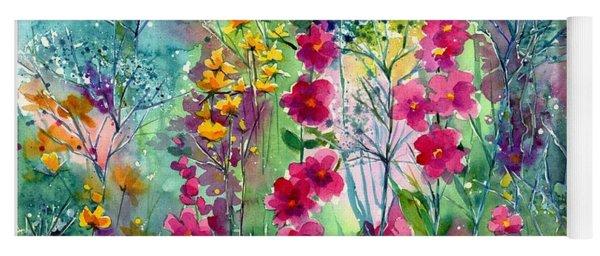 Flowery Fairy Tales Yoga Mat