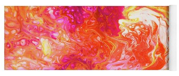 Fluid Hibiscus Yoga Mat