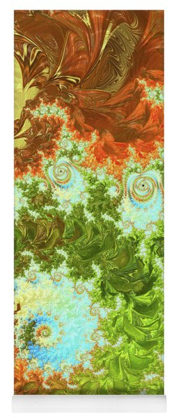 Forest And Sky Yoga Mat