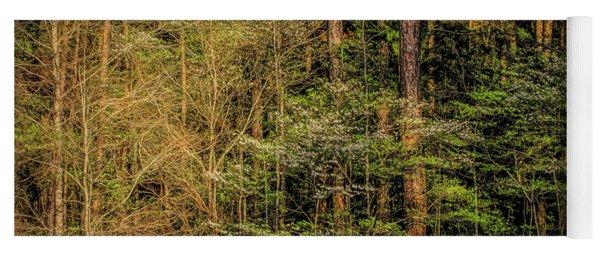 Forest Dogwood Yoga Mat
