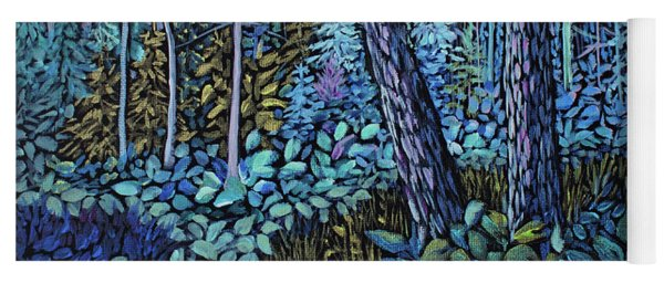 Forest In Colour Series 4 Yoga Mat