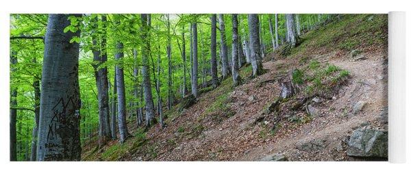 Forest On Balkan Mountain, Bulgaria Yoga Mat