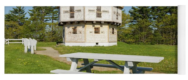 Fort Edgecomb - Edgecomb, Maine Yoga Mat