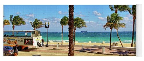 Fort Lauderdale Beach, Florida Yoga Mat