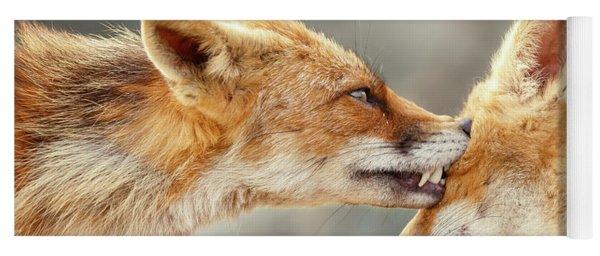 Fox Love Series - That's My Eye Yoga Mat