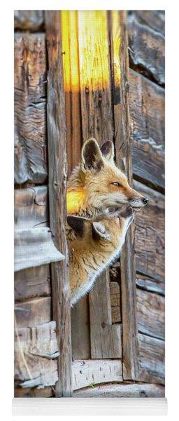 Fox Test  Yoga Mat