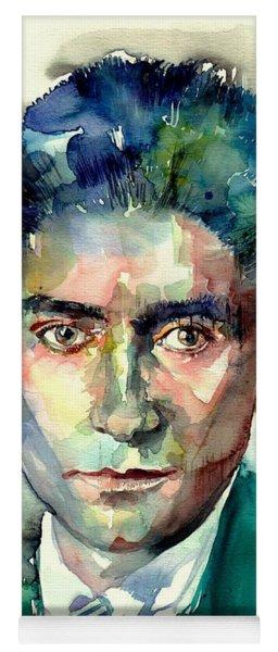 Franz Kafka Portrait Yoga Mat