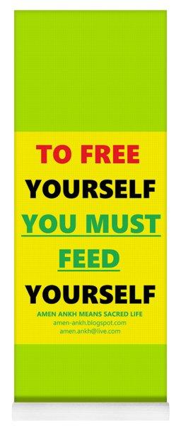 Free Yourself Yoga Mat