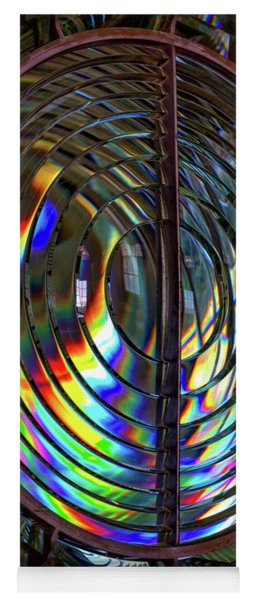 Fresnel Lens Point Arena Lighthouse Yoga Mat