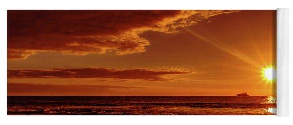 Friday Sunset Yoga Mat