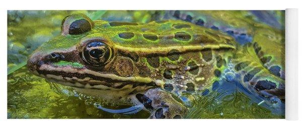 Frog In A Bog Yoga Mat