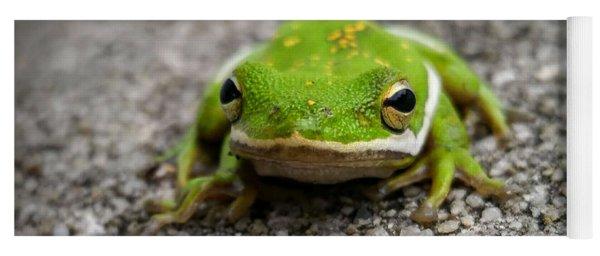 Frogger Yoga Mat