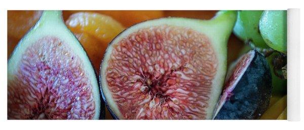 Fruit Plate Yoga Mat