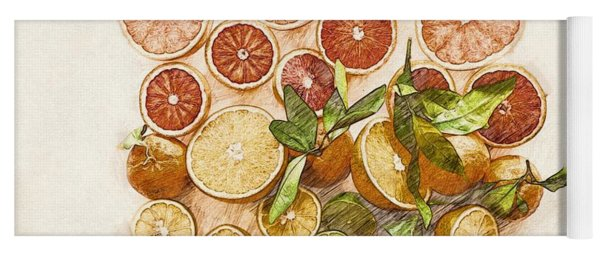 Fruits Mix Yoga Mat