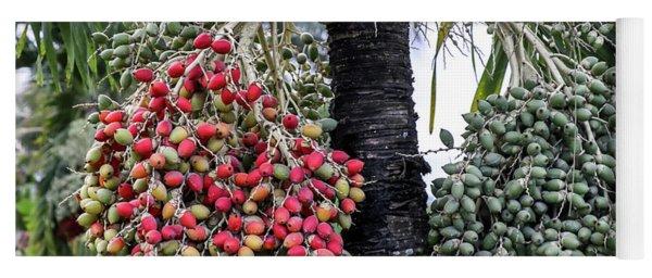 Fruity Palm Tree  Yoga Mat