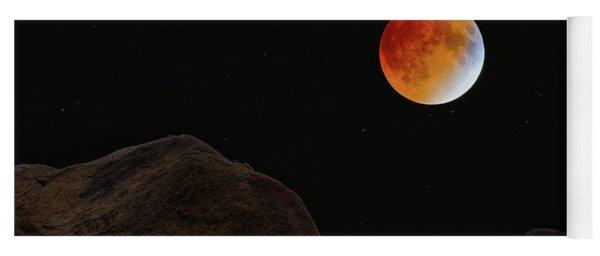 Full Blood Moon, Lunar Eclipse 1 Yoga Mat