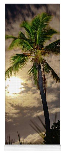 Full Moon Palm Yoga Mat