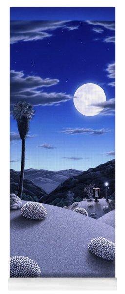 Full Moon Rising Yoga Mat