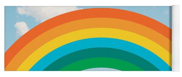 Funky Rainbow Ride Yoga Mat