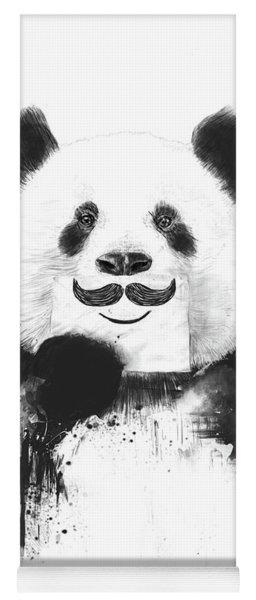 Funny Panda Yoga Mat