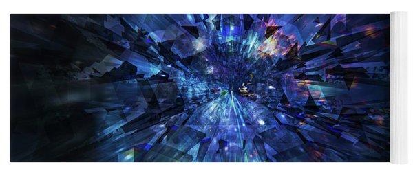 Galactic Crystal Yoga Mat