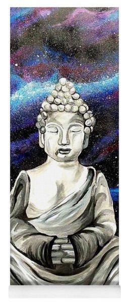 Galaxy Buddha  Yoga Mat