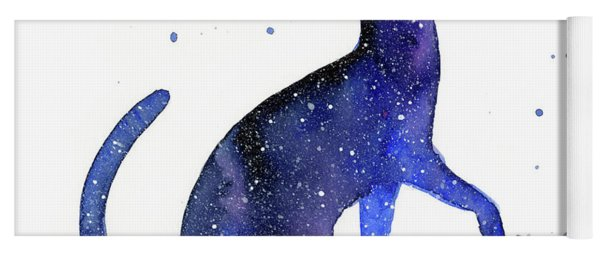Galaxy Cat Yoga Mat