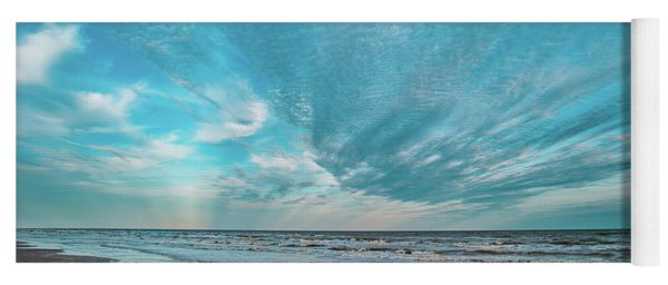 Galveston Island First Light Yoga Mat