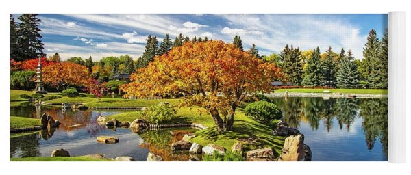 Garden Splendour Yoga Mat
