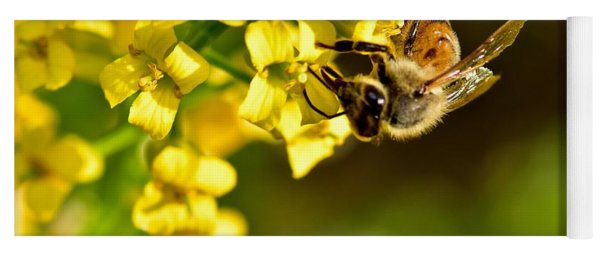 Gathering Pollen Yoga Mat