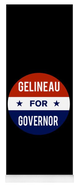 Gelineau For Governor 2018 Yoga Mat