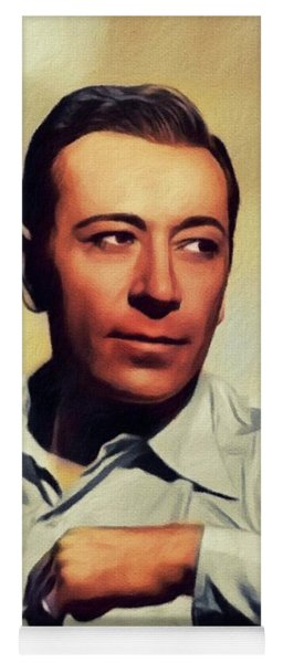 George Raft, Vintage Actor Yoga Mat