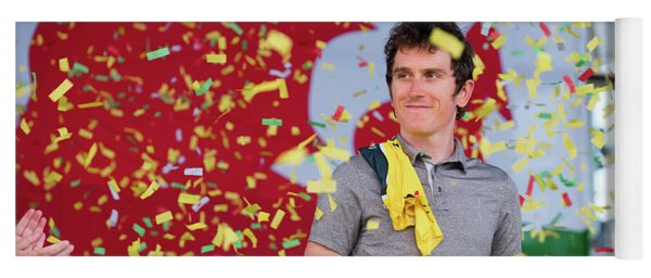 Geraint Thomas, Welsh Cyclist, Winner Of The 2018 Tour De France, Yoga Mat