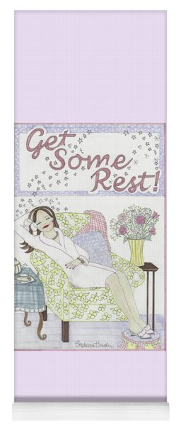 Get Some Rest Yoga Mat