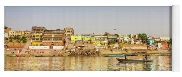 Ghat Varanasi India Yoga Mat