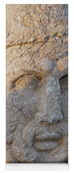 Giant Head Of Heracles,  Tumulus Yoga Mat