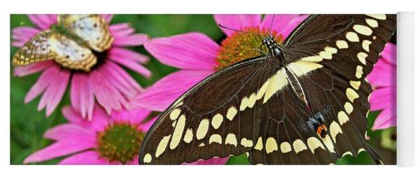 Giant Swallowtail Papilo Cresphontes Yoga Mat