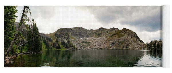 Yoga Mat featuring the photograph Gilpin Lake by Nicole Lloyd