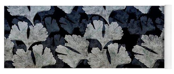 Ginko Leaf Pattern Yoga Mat