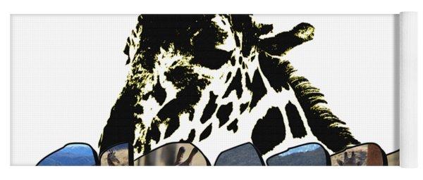 Giraffe Big Letter Yoga Mat