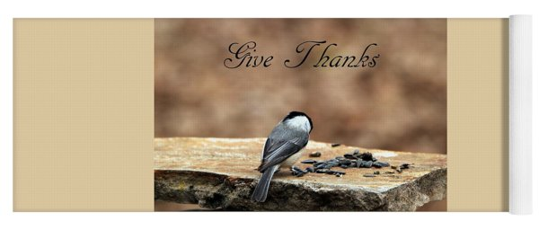 Give Thanks Yoga Mat