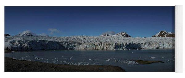Glacier Svalbard Yoga Mat