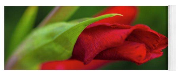 Gladiolus Yoga Mat