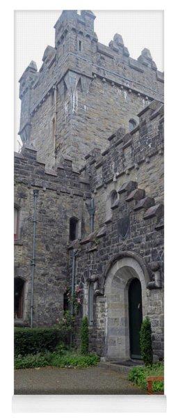 Glenveagh Castle Entrance Yoga Mat