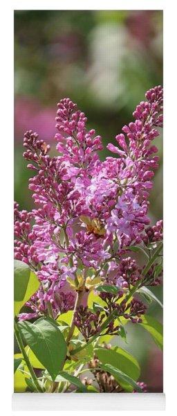 Glorious Lilacs Yoga Mat