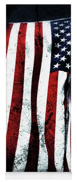 God Bless America Yoga Mat